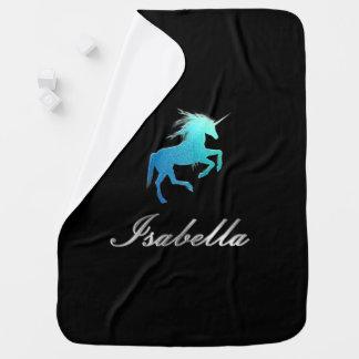 Isabella name baby blanket