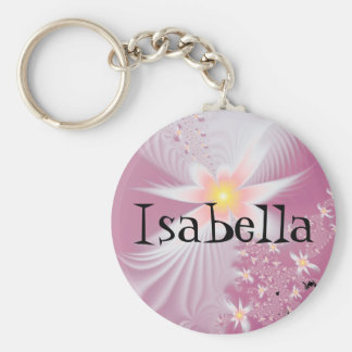 Isabella Name Keychain