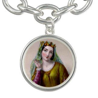 Isabella of Angoulême Charm Bracelet