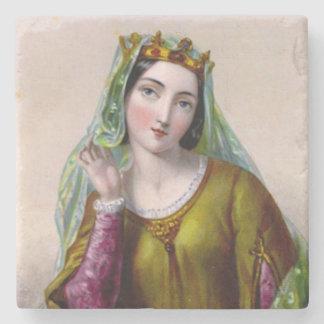 Isabella of Angoulême Sandstone Coaster Stone Coaster