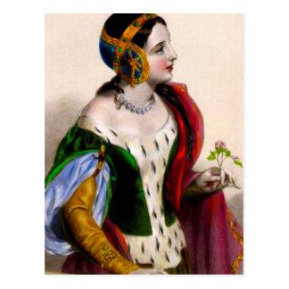 Isabella of France Postcard