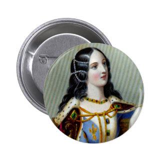 Isabella of Valois Button
