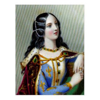 Isabella of Valois Postcard