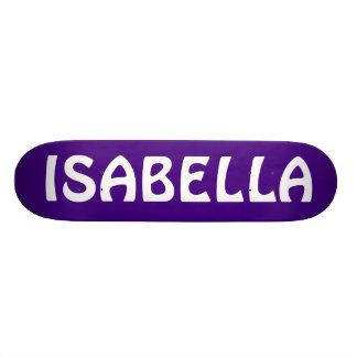 ISABELLA SKATEBOARD DECKS