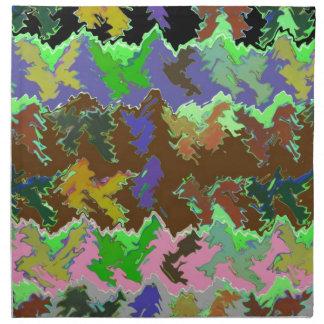 ISABELLA  - Wild Green Art from Naveen Printed Napkin