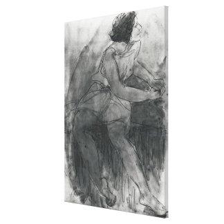 Isadora Duncan Canvas Print
