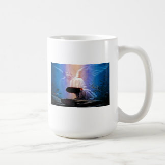 Isaiah 40:31 Angel Praying Classic Coffee Mug