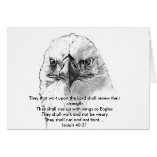 Isaiah 40:31 card