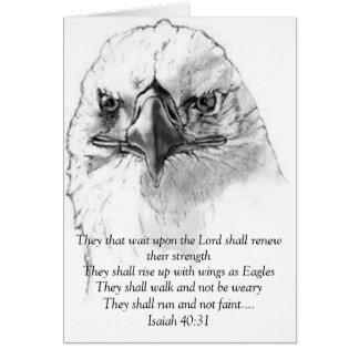 Isaiah 40:31 note card