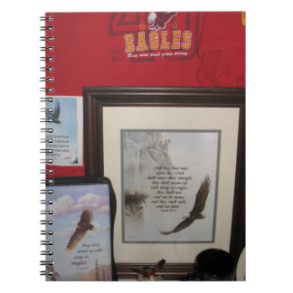 Isaiah 40 31 notebook