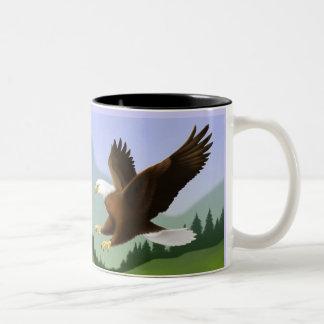 Isaiah 40:31 Scripture Soaring Eagle Mug