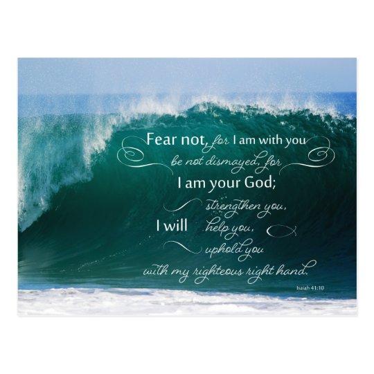 Isaiah 41 10 Bible Verse Postcards
