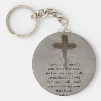 Isaiah 41:10 Inspirational Bible Verse Key Ring