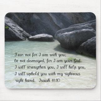 Isaiah 41:10 mouse mat