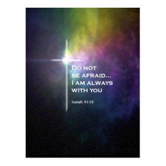 Isaiah 41:10 postcards