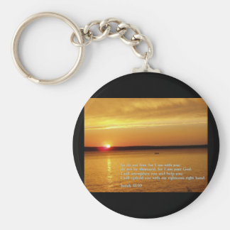 Isaiah 41 10 Sunset Keychains