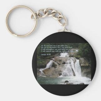 Isaiah 41:10  Waterfall Keychains