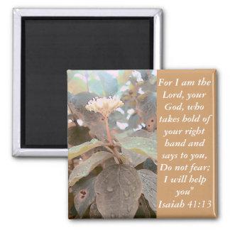 Isaiah 41 13 fridge magnet