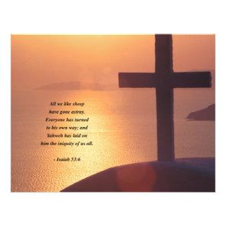 ISAIAH 53:6 21.5 CM X 28 CM FLYER