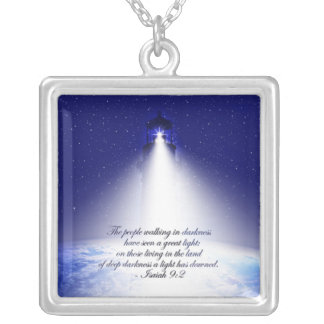 Isaiah 9:2 Christmas Necklace