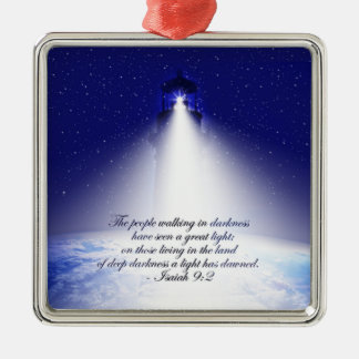 Isaiah 9:2 Christmas Ornament