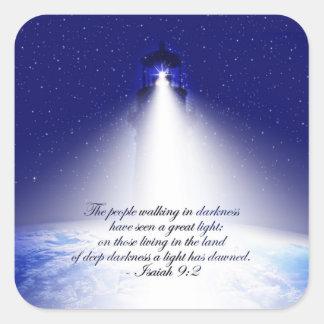 Isaiah 9:2 Christmas Sticker