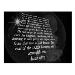 Isaiah 9:6-7 Unto Us a Child is Born - Jesus Postcards