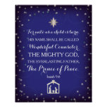 Isaiah 9:6 For Unto Us A Child Is Born (11x14) Poster