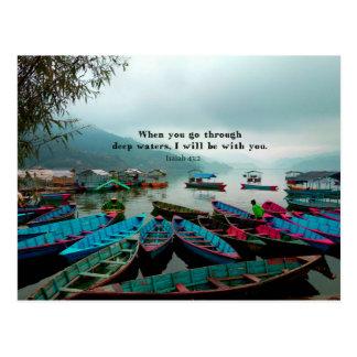Isaiah Bible Verse Scripture Art Postcard