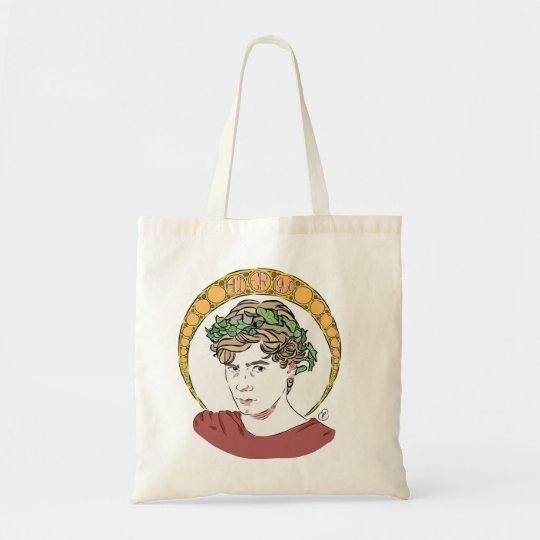 Isak art nouveau tote bag