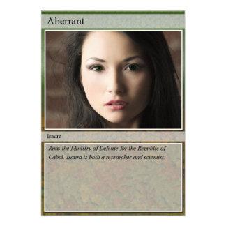 Isaura Trading Card