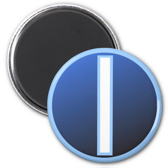 Isaz Isa Ice Rune 6 Cm Round Magnet