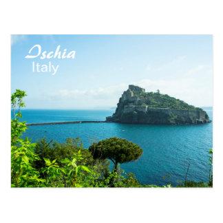 Ischia, Castello Aragonese - Postcard