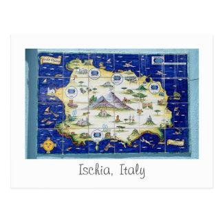 Ischia, Italy postcard