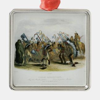 Ischoha-Kakoschochata, Dance of the Mandan Indians Christmas Ornament