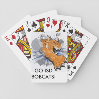 ISD Bobcats Playing Cards