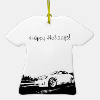 ISF rolling shot Christmas Tree Ornaments