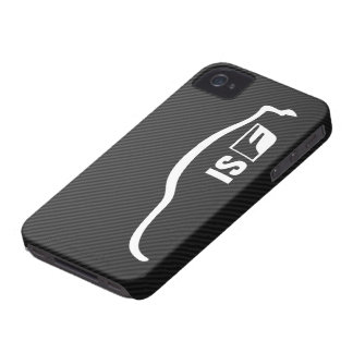 ISF white brushstroke logo iPhone 4 Cases