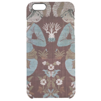 Isfahan style panel, Persian, 17th century (silk) Clear iPhone 6 Plus Case