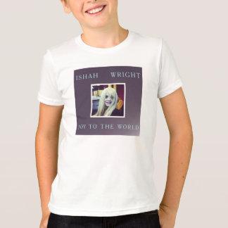 Ishah Joy to the World Christmas Kids Shirt