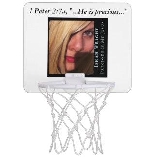 Ishah Precious Is My Jesus Basketball Net Mini Basketball Hoops