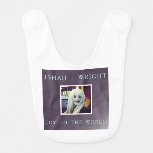 Ishah Wright Joy to the World Christmas Bib
