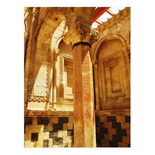 ISHAK PASHA PALACE IN EASTERN TURKEY POST CARD