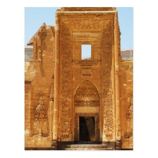 ISHAK PASHA PALACE  Kurdish Palace of Ottoman era Post Card