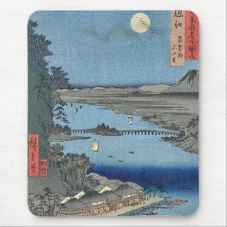 Ishiyama on Biwa Lake Omi Mouse Pad