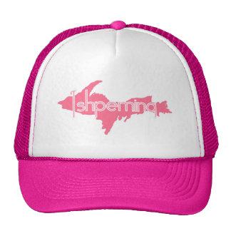 Ishpeming Michigan Upper Peninsula Mesh Hats