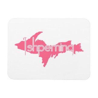 Ishpeming Michigan Upper Peninsula Flexible Magnet