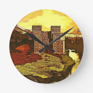 ISHTAR GATE Wall Clock