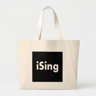 iSing Large Tote Bag