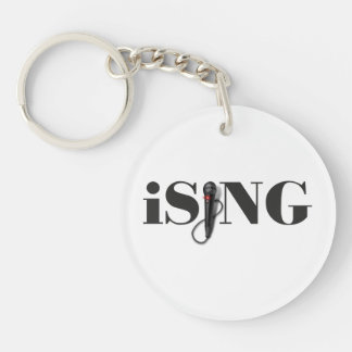 iSING Microphone Performer Key Ring